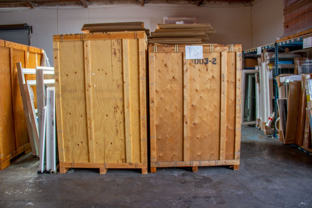 7x8 Warehouse self storage unit