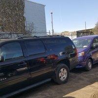 100x28 Parking Lot self storage unit