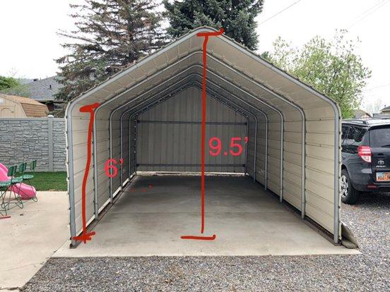 26x11 Unpaved Lot self storage unit