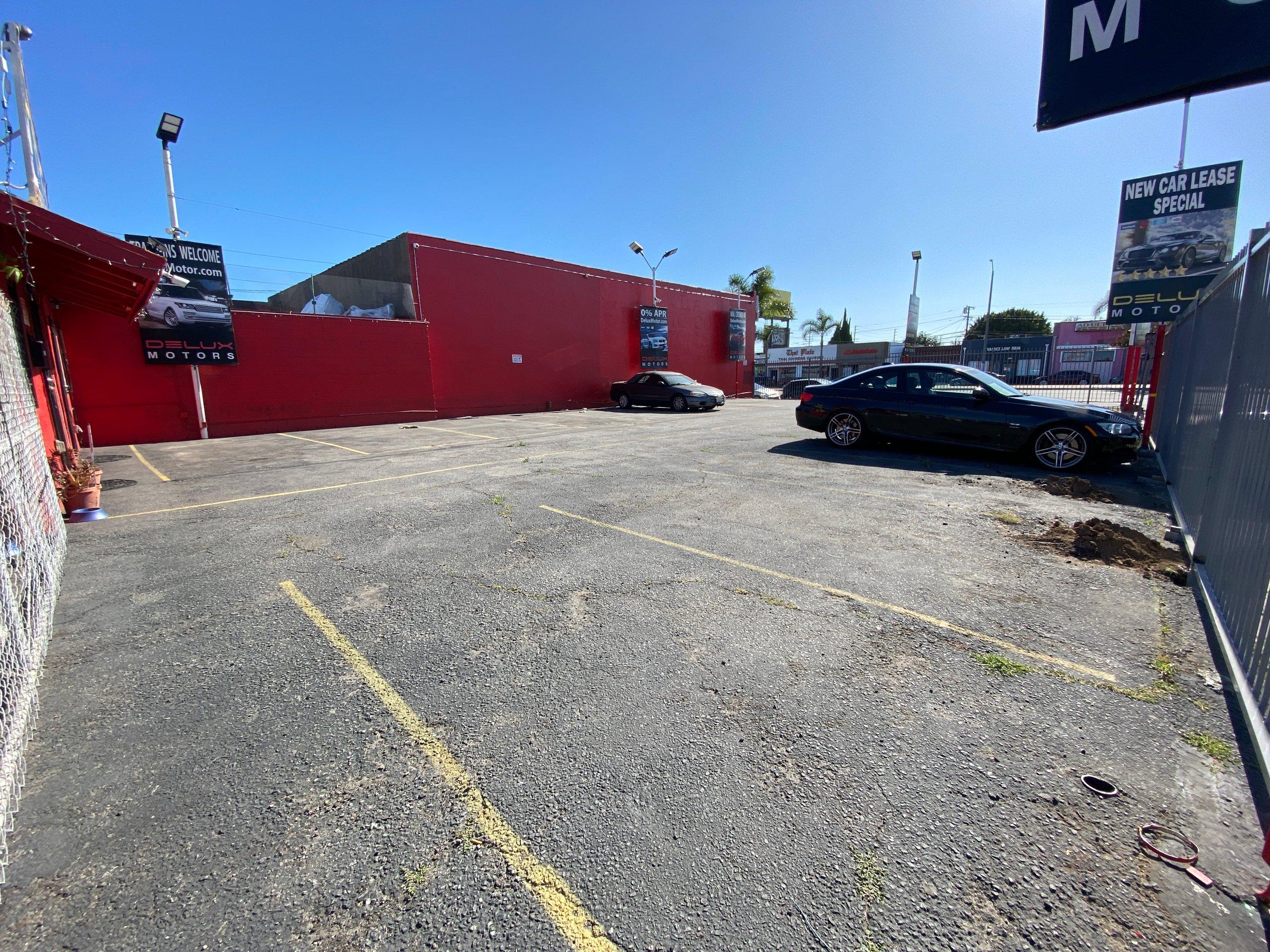 49x78 Parking Lot self storage unit