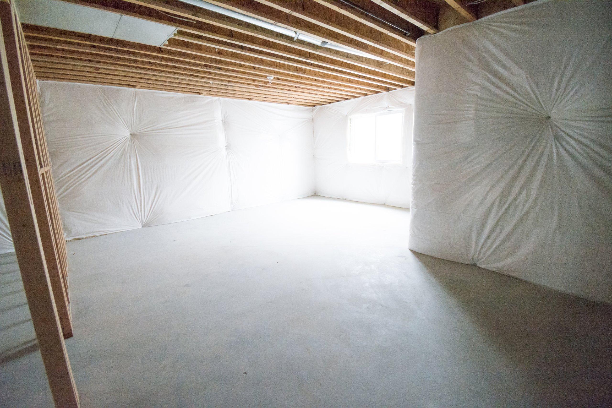 13x17 Basement self storage unit