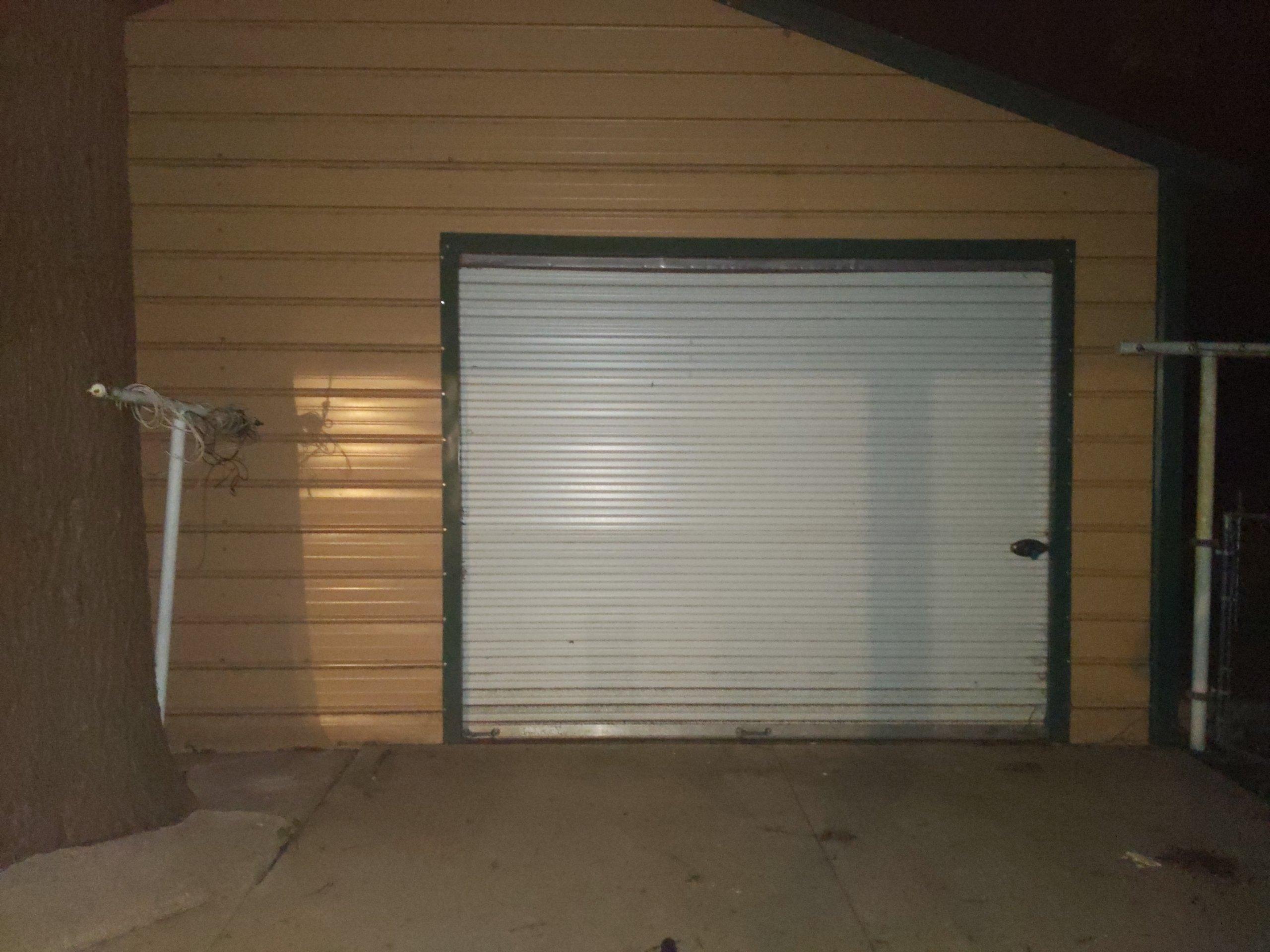28x18 Garage self storage unit