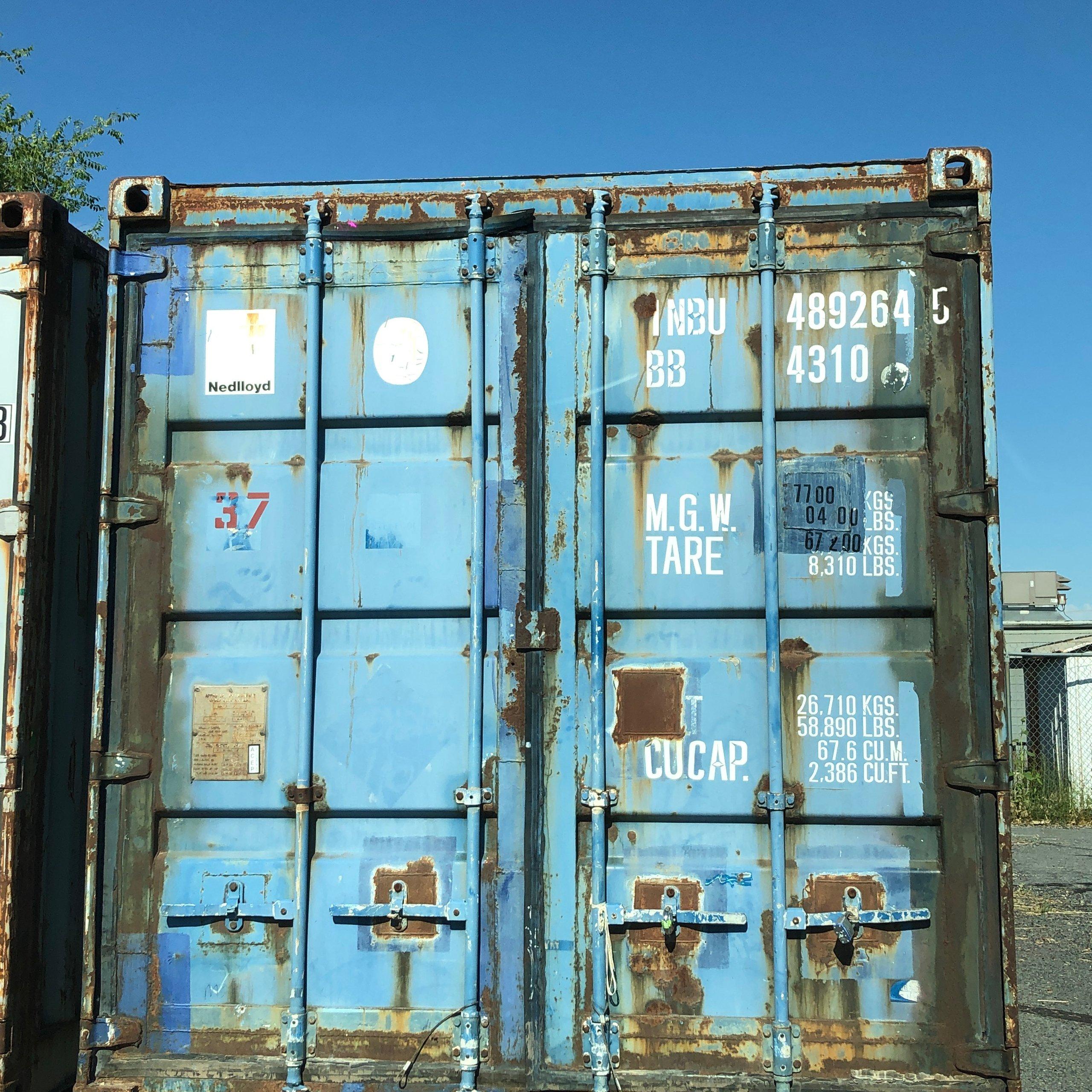 40x8 Warehouse self storage unit