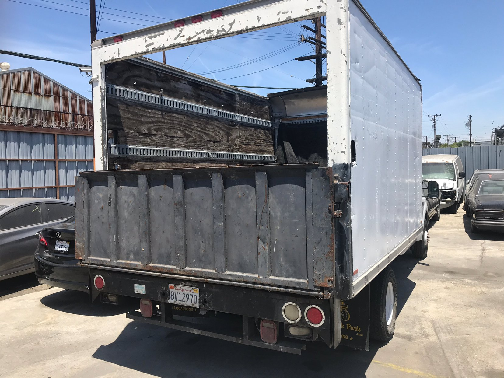 30x12 Parking Lot self storage unit