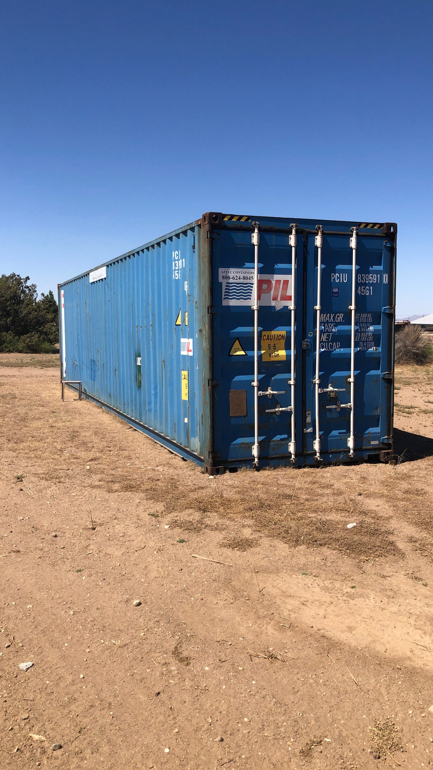 40x9 Shipping Container self storage unit