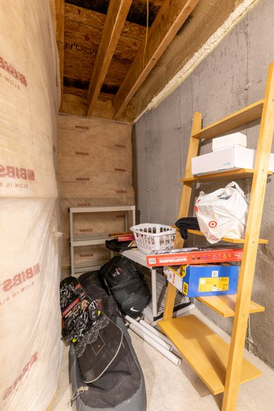 7x4 Basement self storage unit