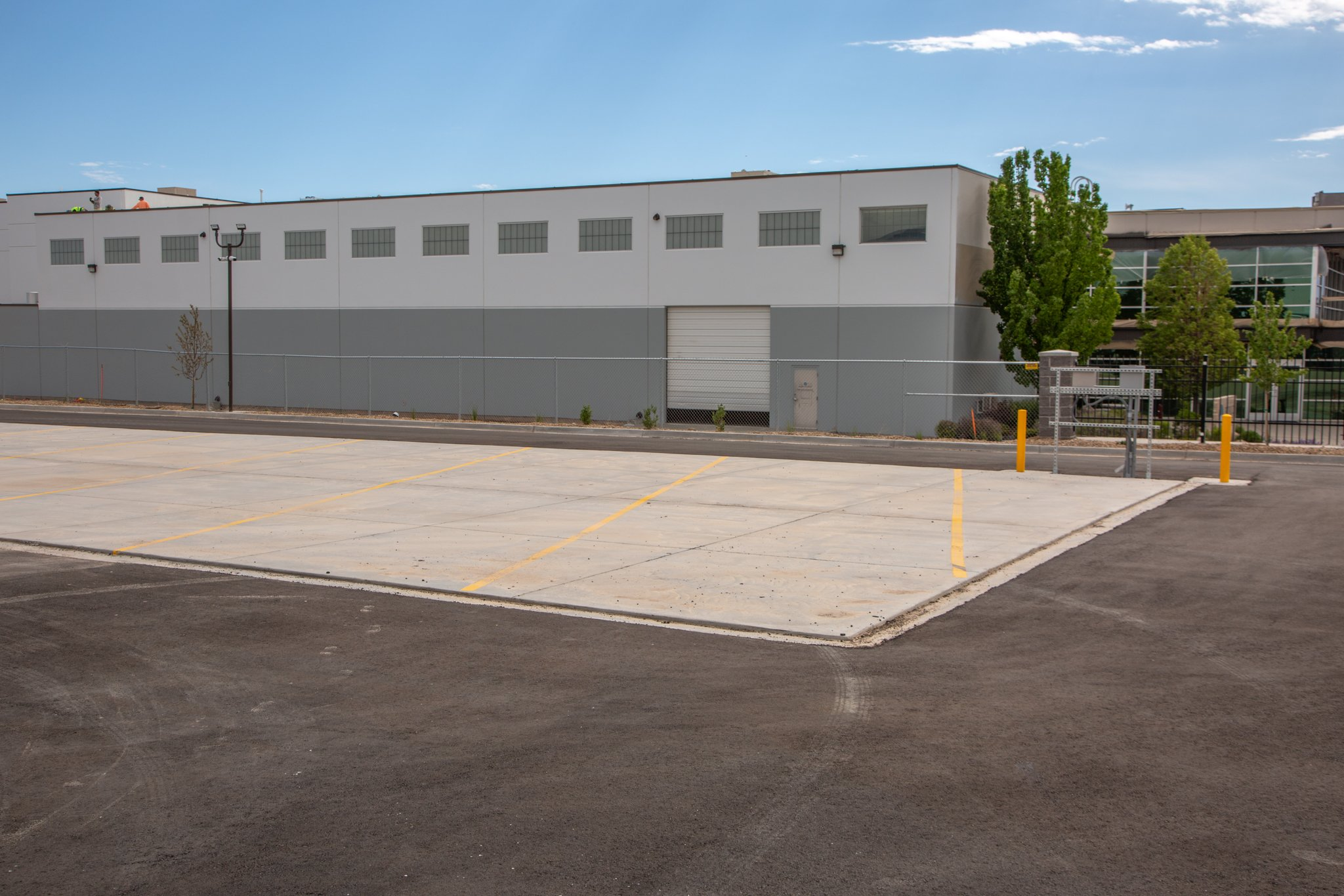 40x12 Parking Lot self storage unit