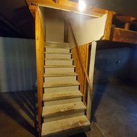 12x8 Bedroom self storage unit