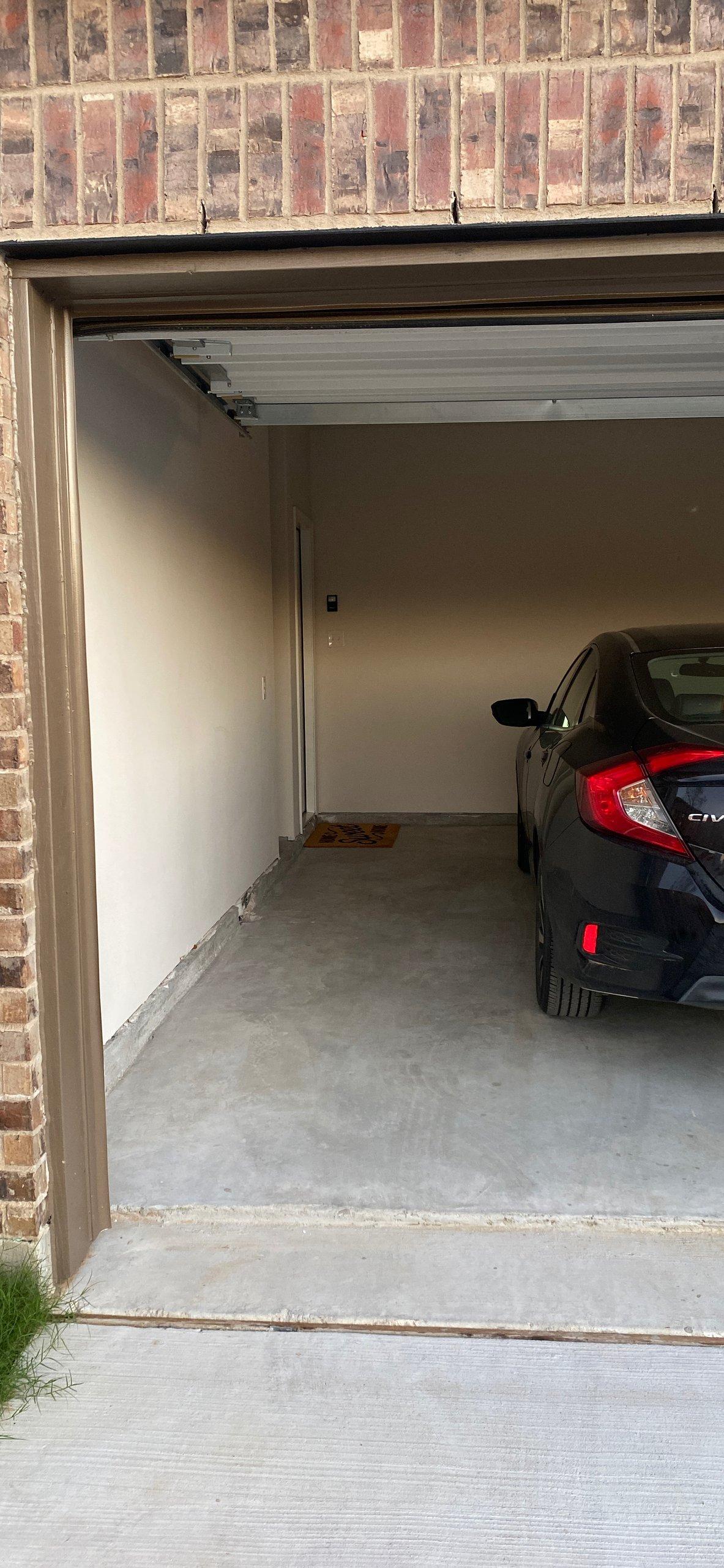 25x7 Garage self storage unit