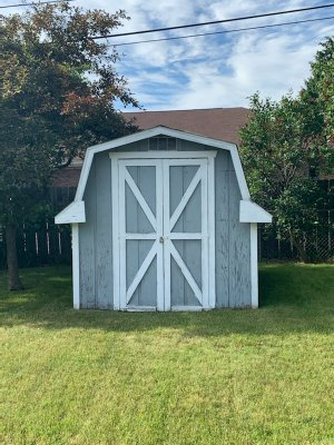 11x8 Shed self storage unit