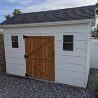 8x12 Shed self storage unit