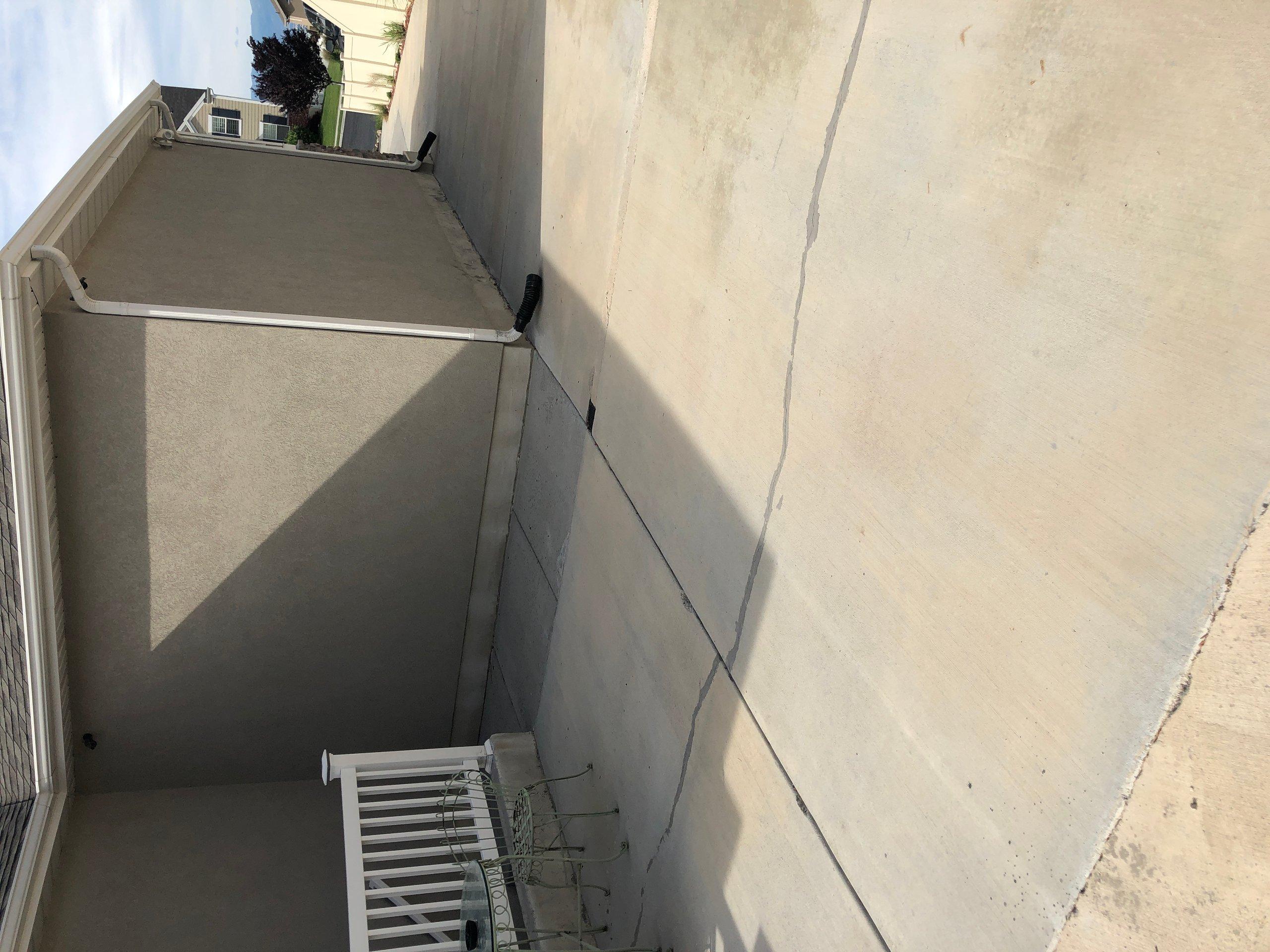 30x30 Driveway self storage unit