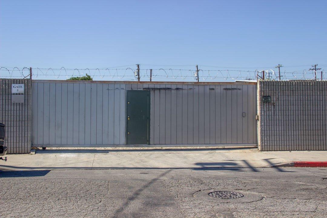 60x10 Parking Lot self storage unit
