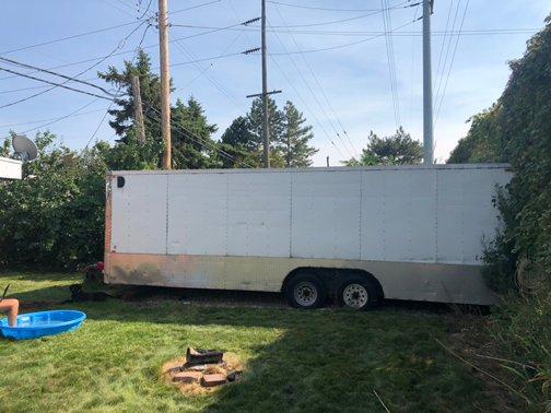 25x15 Unpaved Lot self storage unit