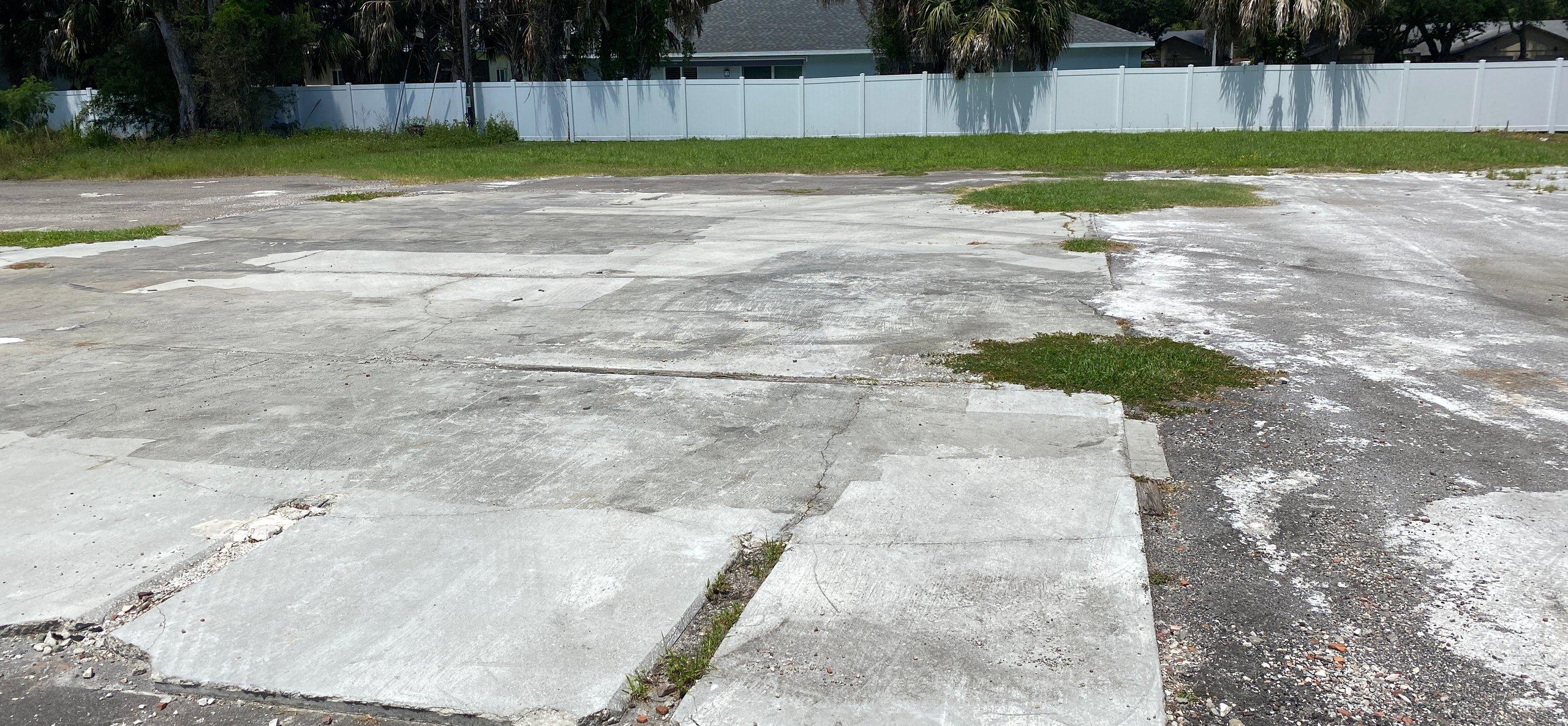 40x50 Parking Lot self storage unit
