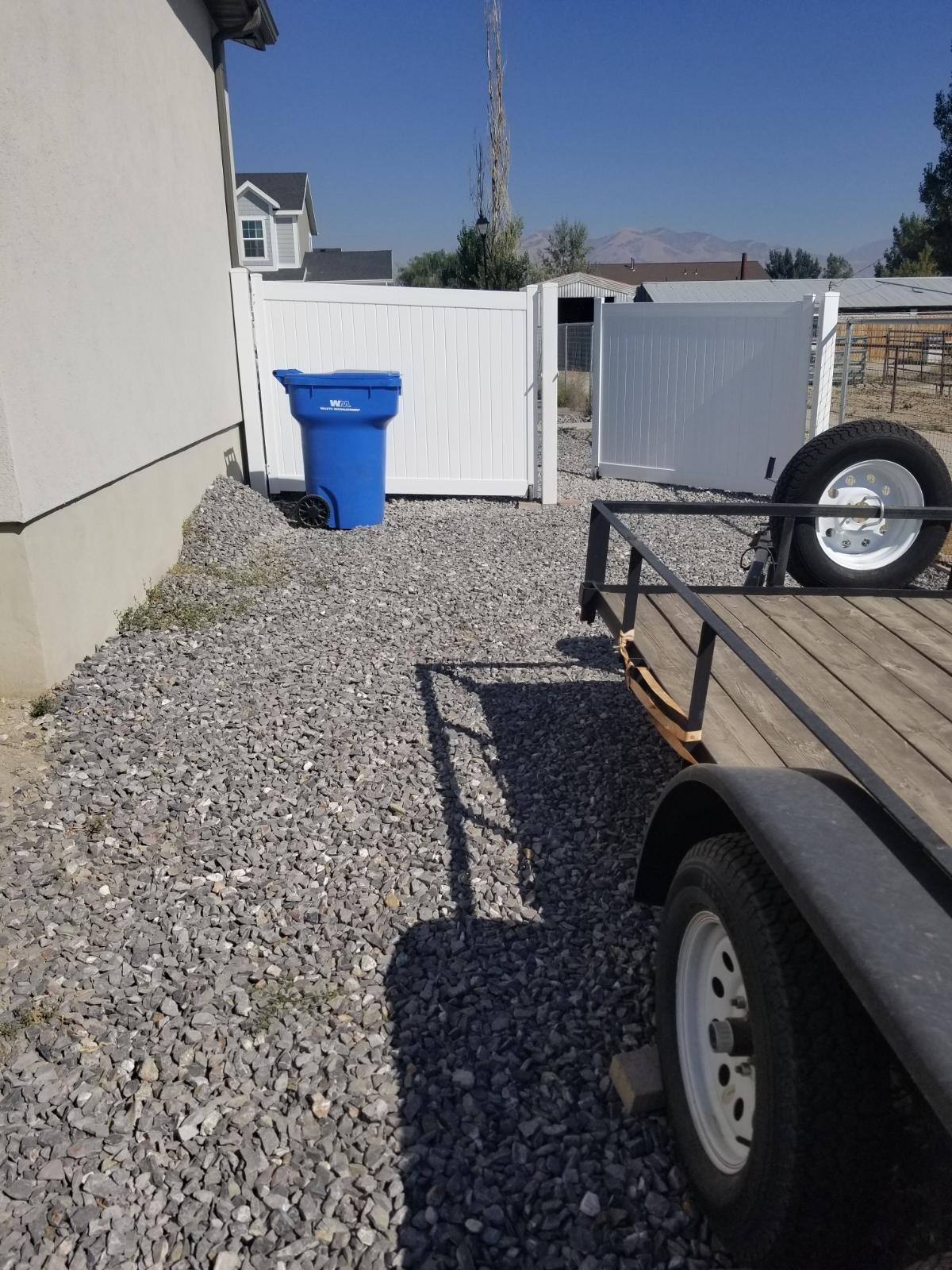 20x12 Unpaved Lot self storage unit