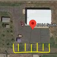 35x10 Unpaved Lot self storage unit