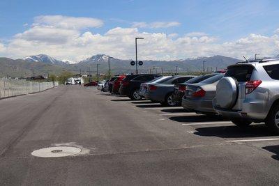15x10 Parking Lot self storage unit