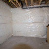 12x21 Basement self storage unit