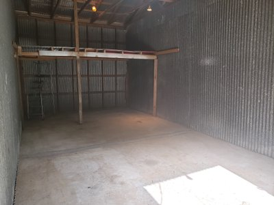 21x20 Warehouse self storage unit