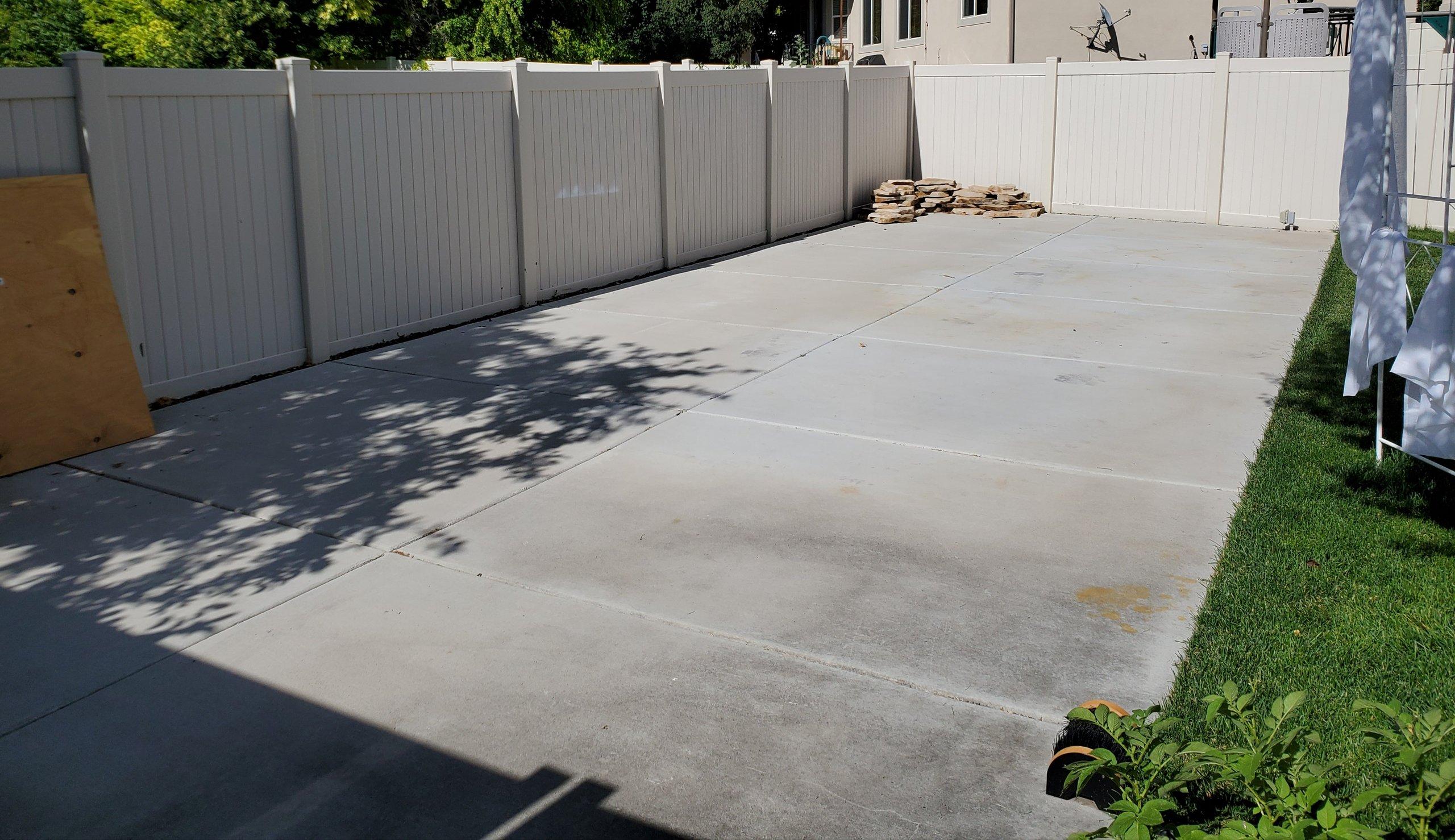 42x16 Driveway self storage unit