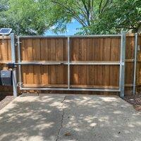 40x10 Driveway self storage unit