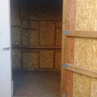 7x6 Shed self storage unit