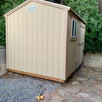 5x9 Shed self storage unit