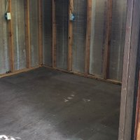 10x12 Shed self storage unit