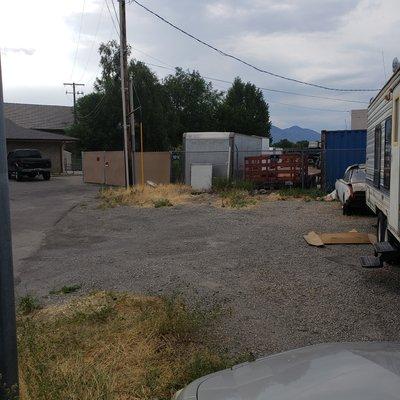 36x12 Parking Lot self storage unit
