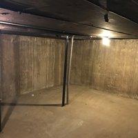 21x16 Basement self storage unit