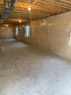 47x30 Basement self storage unit