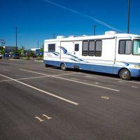 40x11 Parking Lot self storage unit
