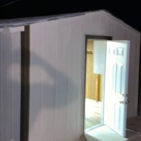 10x5 Shed self storage unit