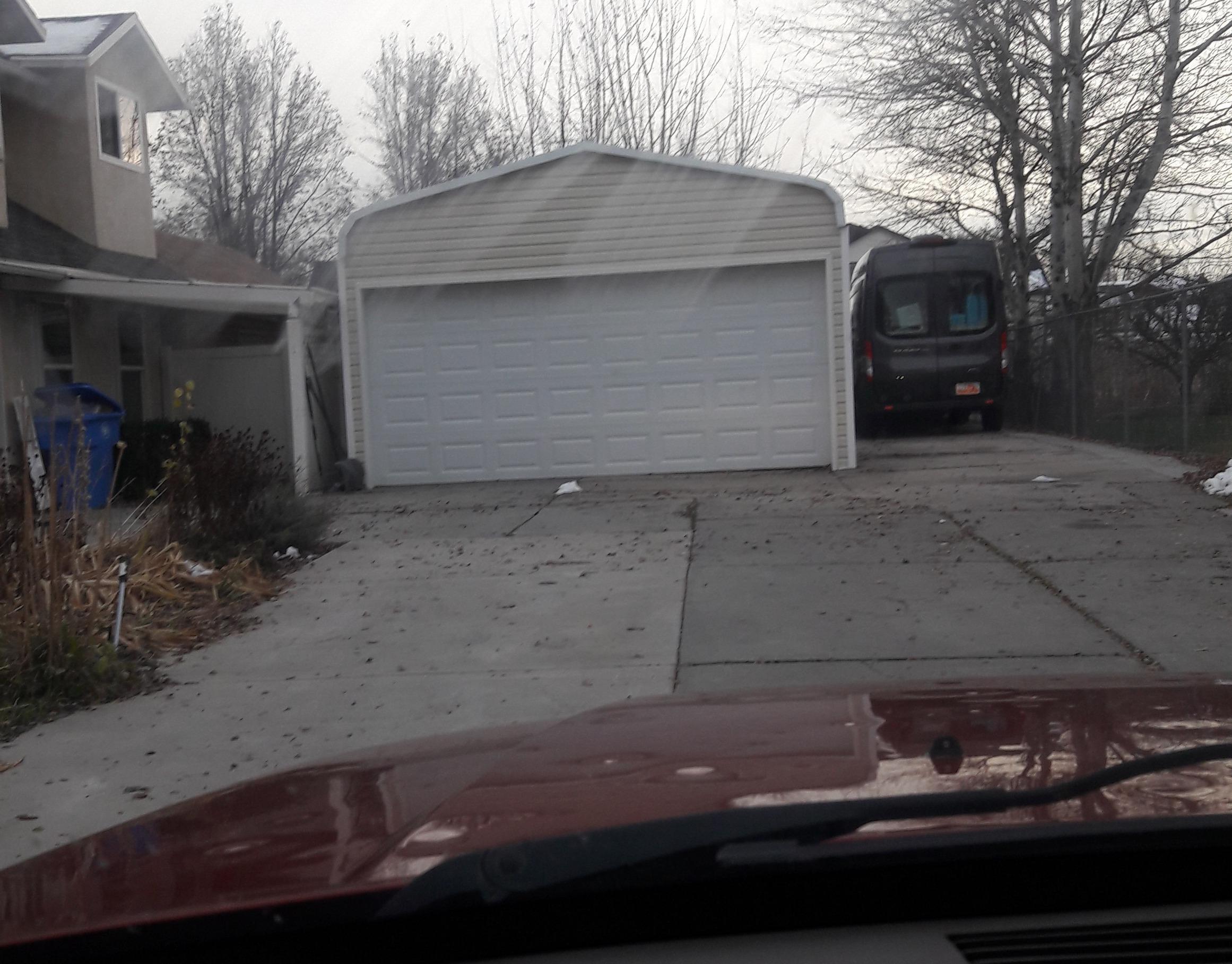 30x9 Garage self storage unit
