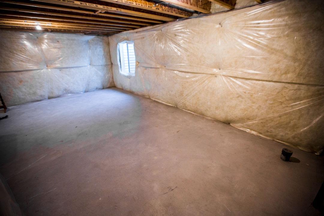 11x23 Basement self storage unit