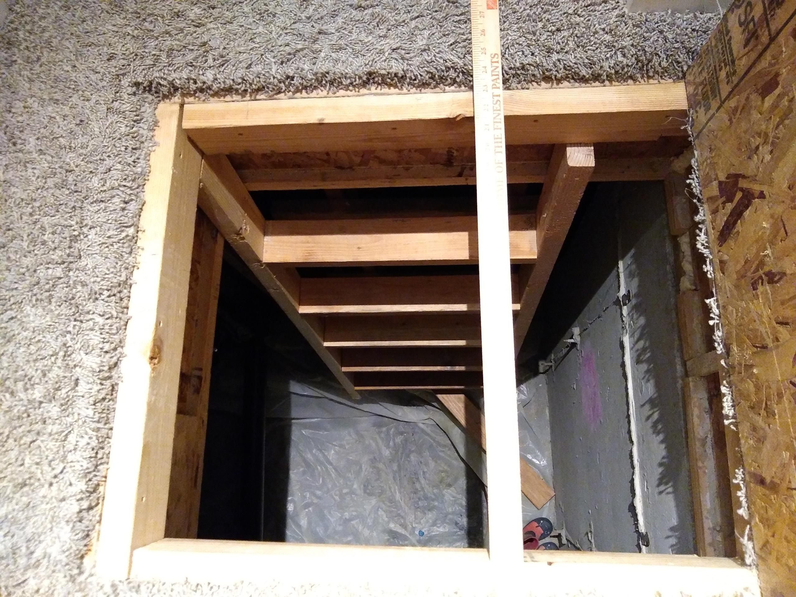 7x7 Attic self storage unit