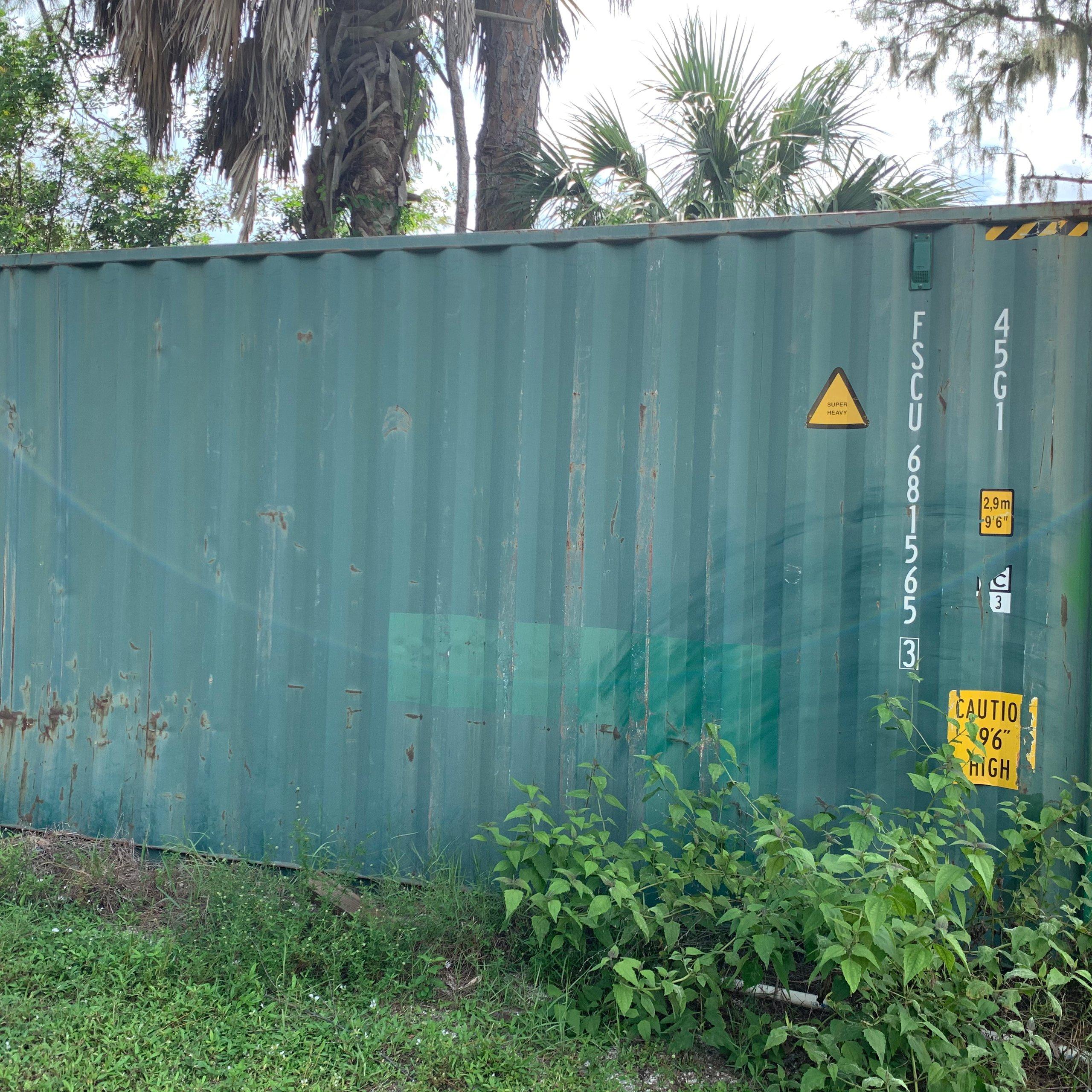 200x150 Unpaved Lot self storage unit
