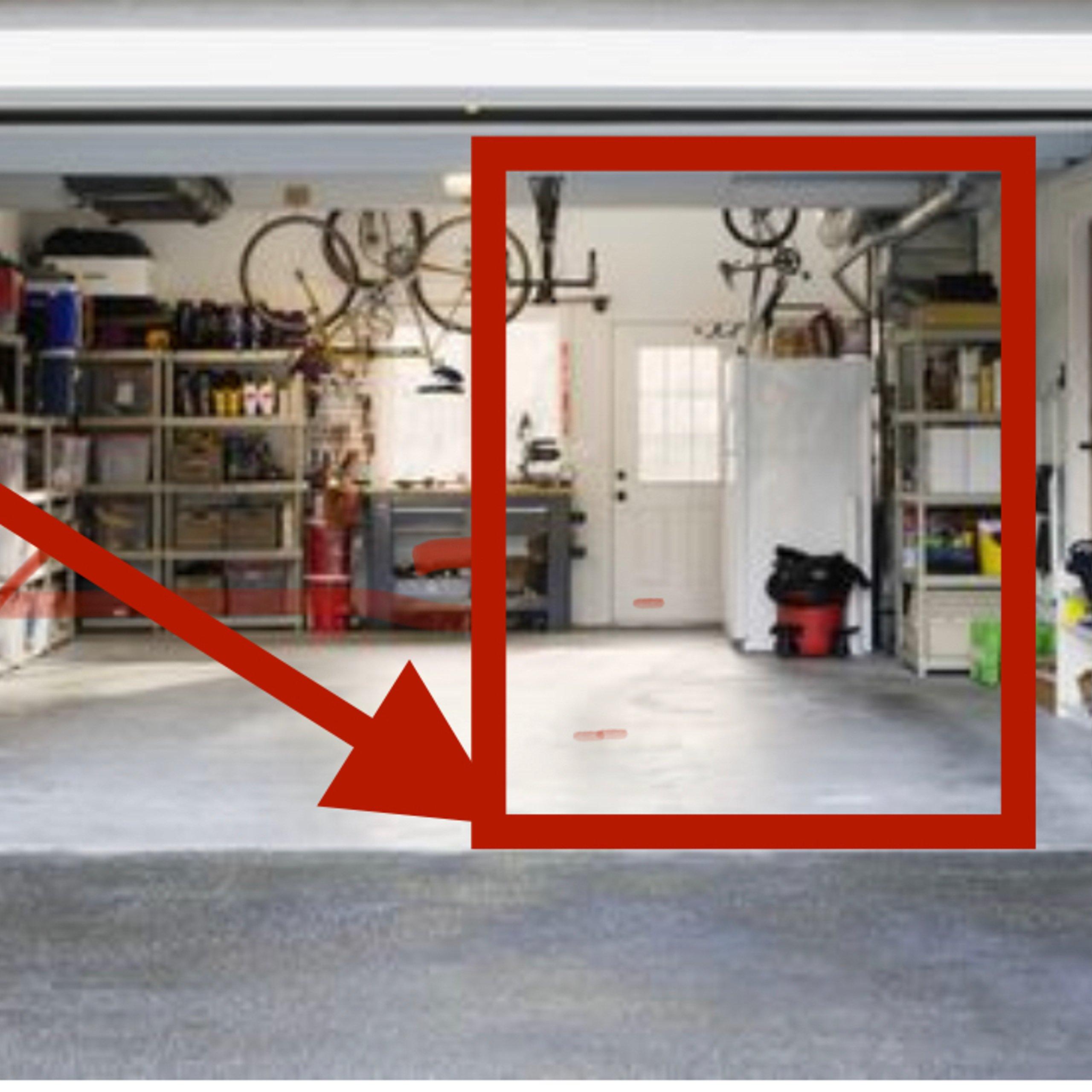 185x75 Garage self storage unit