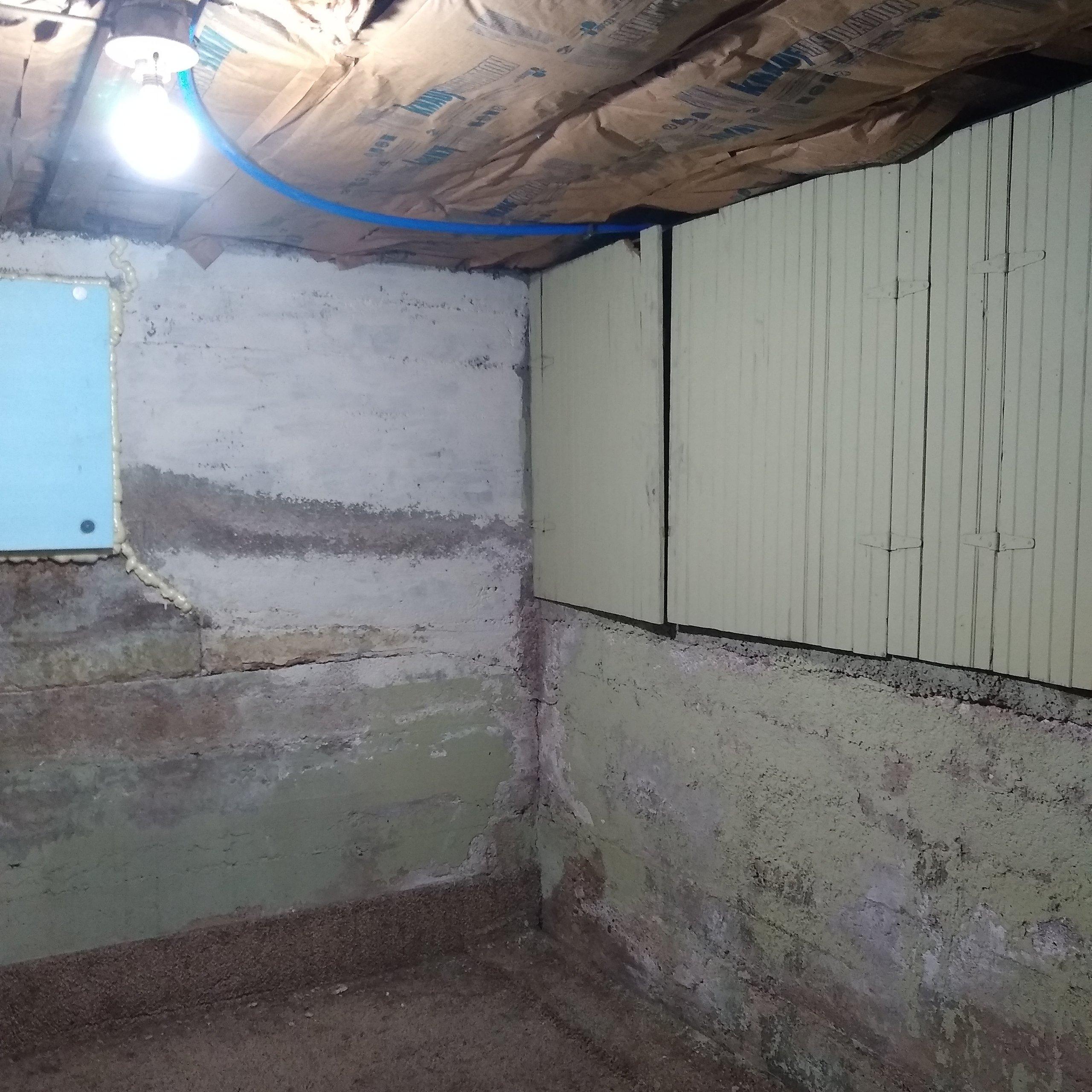 11x8 Basement self storage unit