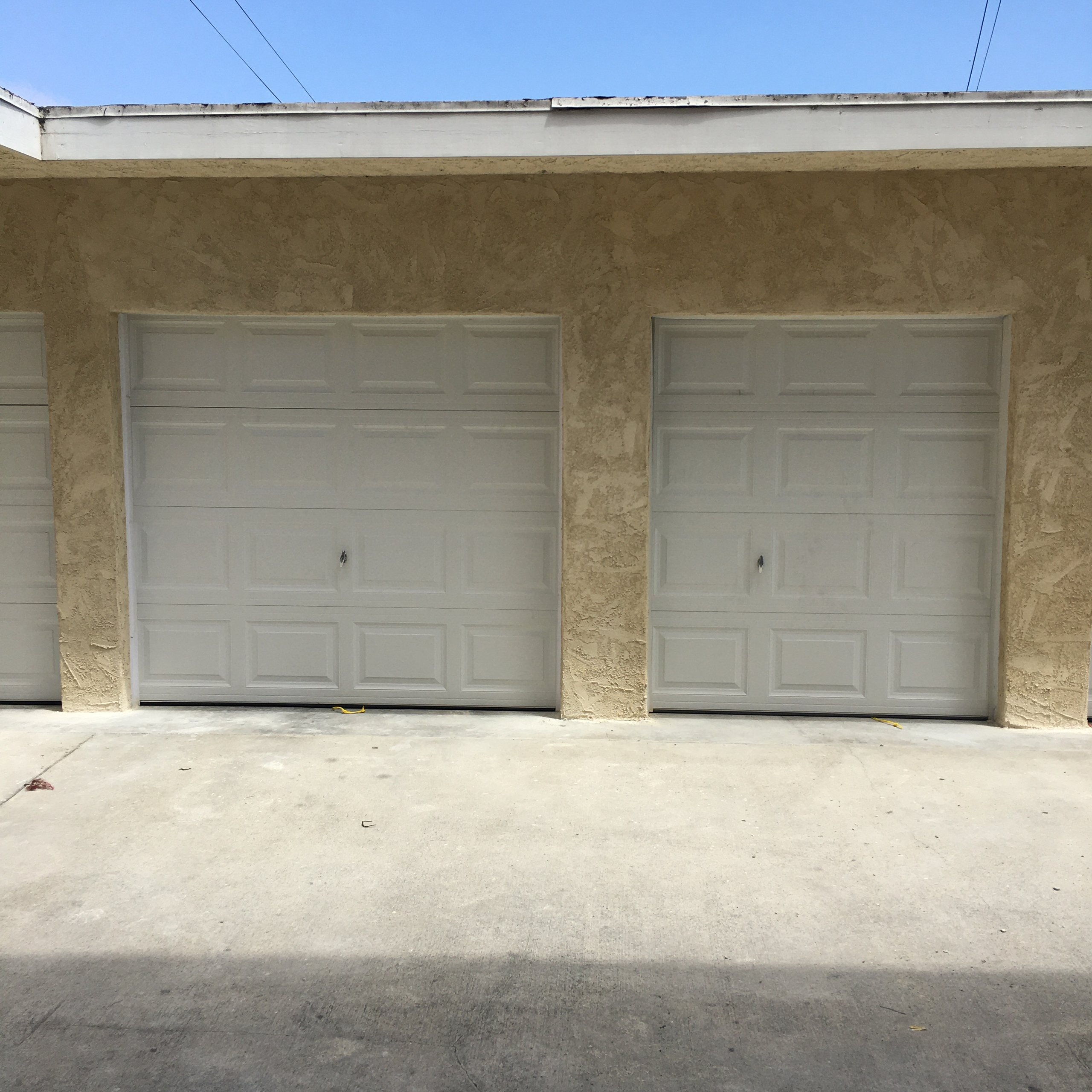 12x7 Garage self storage unit