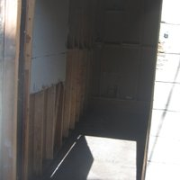 20x5 Shed self storage unit