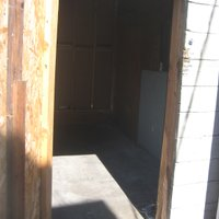 30x5 Shed self storage unit