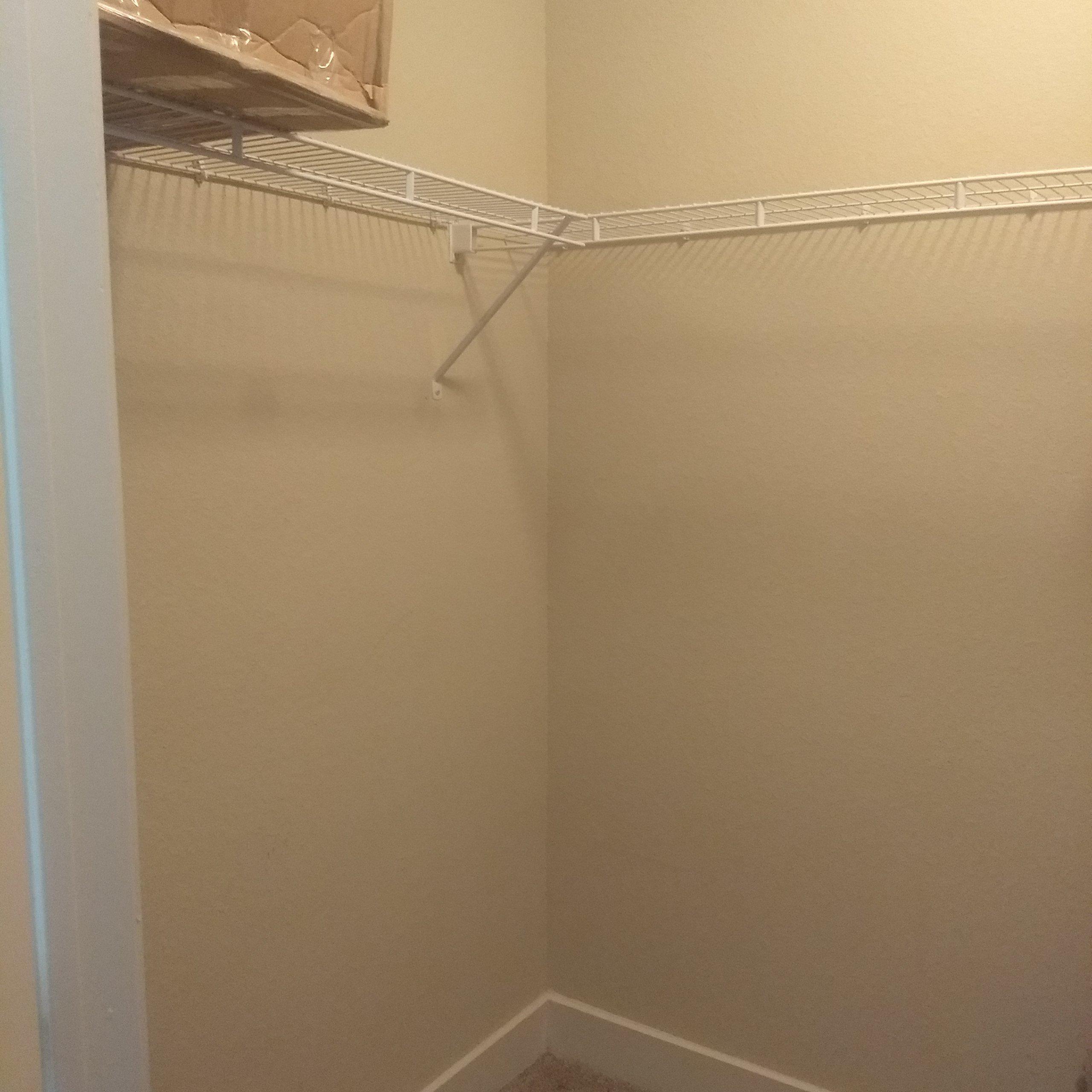 7x2 Closet self storage unit