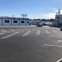 15x8 Parking Lot self storage unit