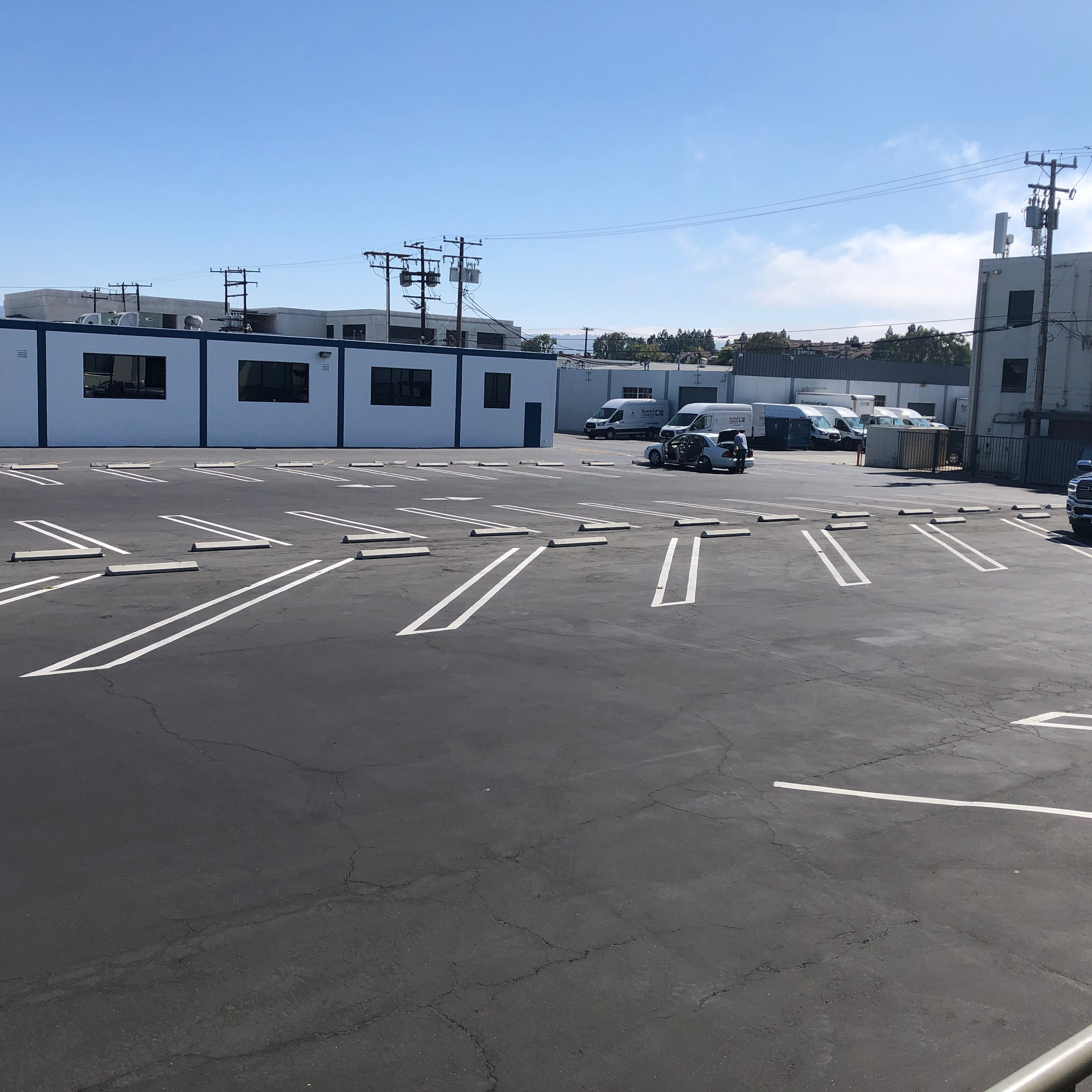 20x9 Parking Lot self storage unit