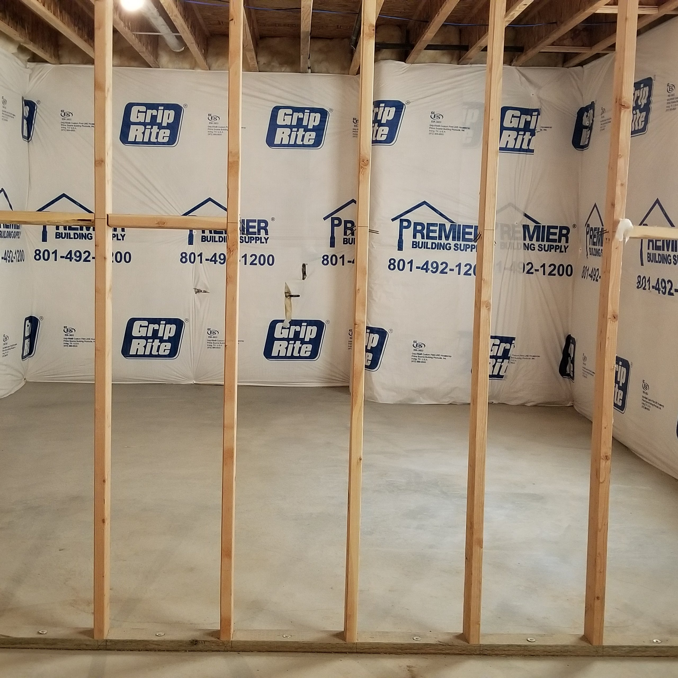12x14 Basement self storage unit