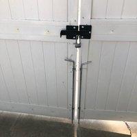 40x10 Unpaved Lot self storage unit