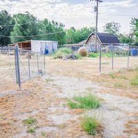 300x200 Unpaved Lot self storage unit