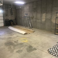 25x16 Garage self storage unit